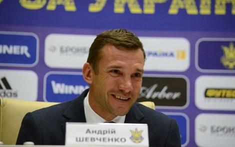 Шевченко очолив збірну України з футболу