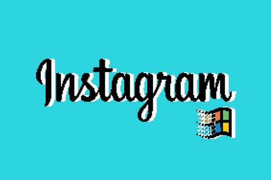 Дизайнер нарисовал интерфейс Instagram в духе Windows 95