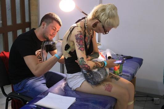 Фоторепортаж з фестиваль татуювання «Tattoo Fest 2016»