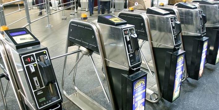 Укиївському метро прибирають турнікети для жетонів
