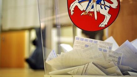 Напарламентських виборах вЛитві проголосували вже понад 20% виборців