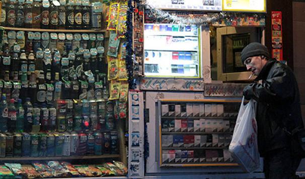 УКиєві вступила в дію заборона продажу алкоголю вночі