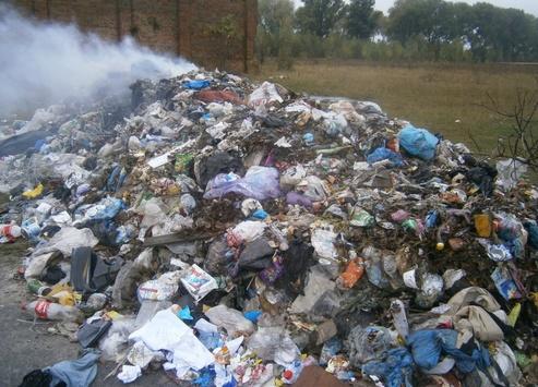 4 грузовика выбросили львовский мусор в поле на Сумщине - Цензор.НЕТ 3334