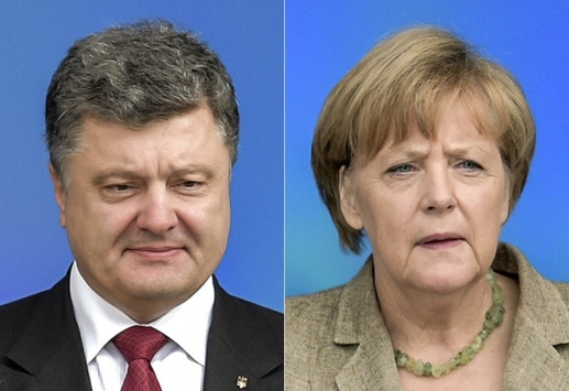 Порошенко і Меркель обговорили ситуацію наДонбасі