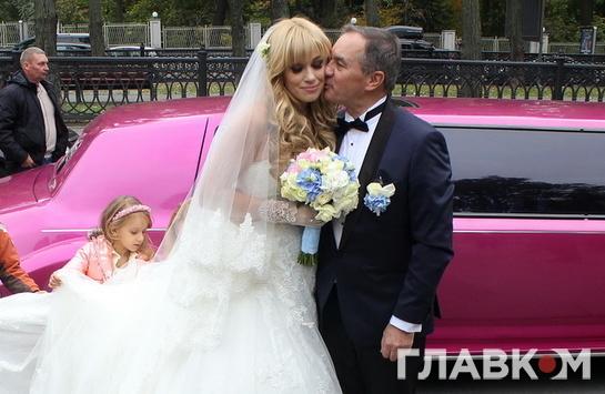 Мэр Глухова Мишель Терещенко обвенчался воВладимирском соборе