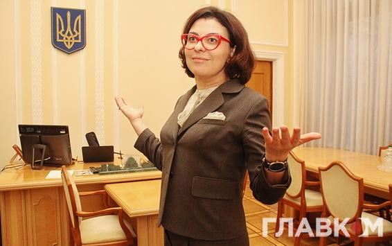 Віце-спікер Верховної Ради Оксана Сироїд