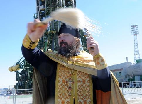 Священник Сергій Бичков