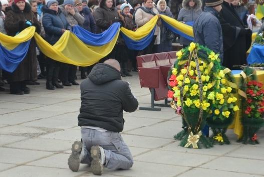 Українці прощаються з Героями