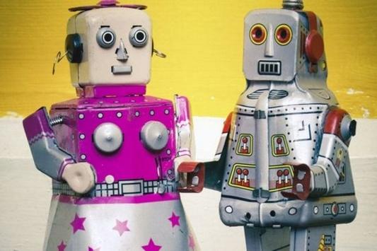 Сексам игра робот с роботом занимается
