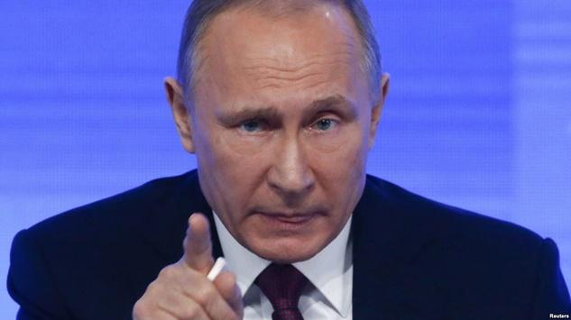 Володимир Путін - Ображений Путін добиває Росію 3a0f6cd705025