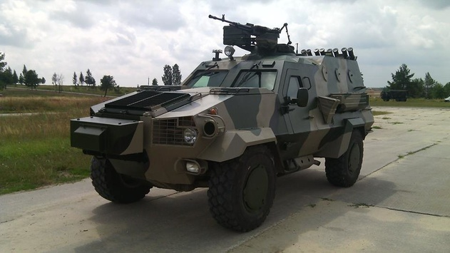Львовский бронетанковый завод получил заказ на 20 бронеавтомобилей «Дозор-Б»