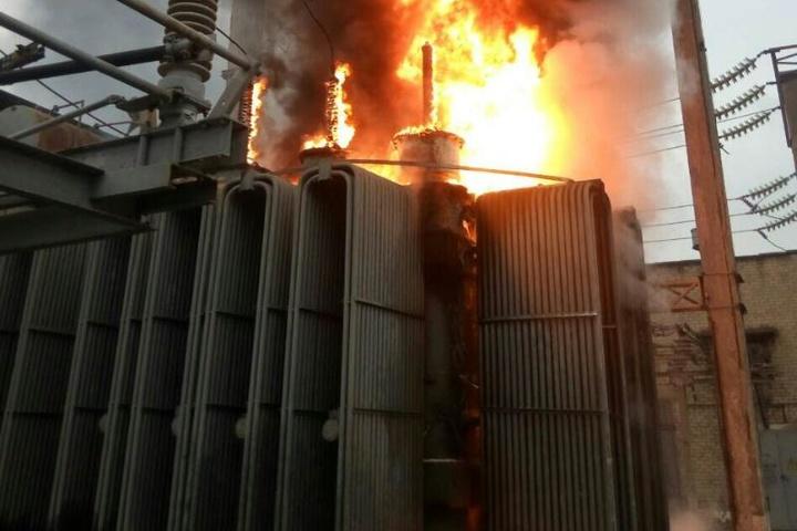 Масштабну пожежу натрансформаторіній підстанції ліквідували у Сєвєродонецьку