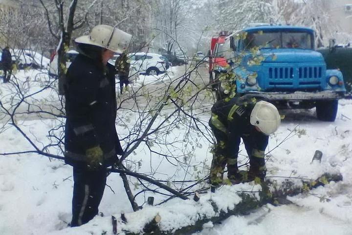 Через негоду в Україні залишають знеструмленими 505 населених пунктів