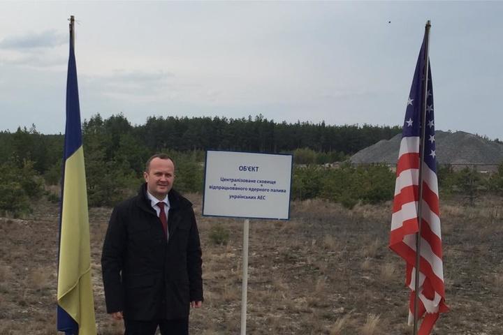 Семерак заявив, що Україна спільно з США будуватиме сховище ядерного палива