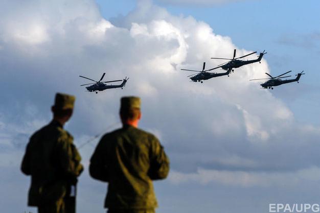 Країна-терорист Росія провела військові навчання в окупованому Криму