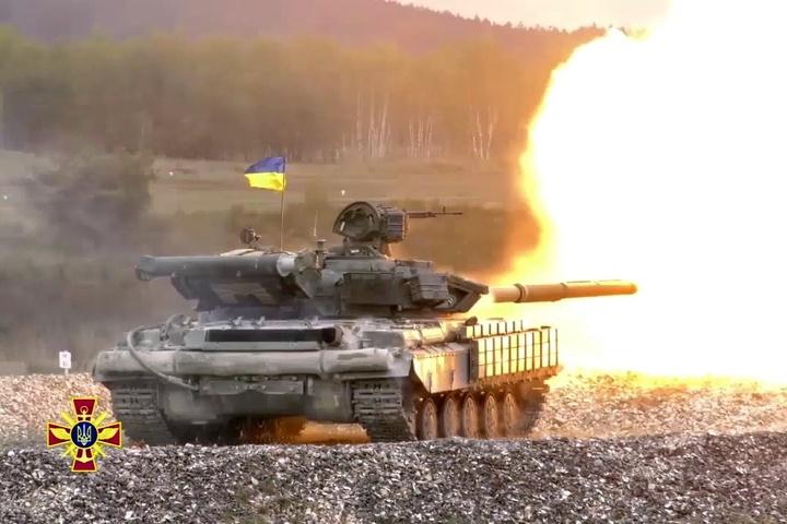 Українські танкісти вперше взяли участь утанковому біатлоні НАТО