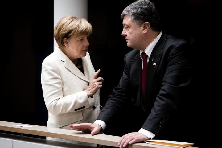 Порошенко збирається вБерлін назустріч зканцлером Німеччини