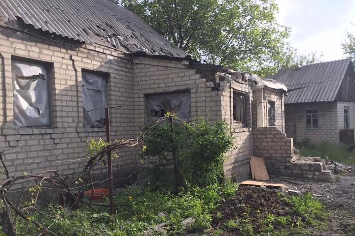 Внаслідок обстрілу Авдіївки пошкоджено будинок
