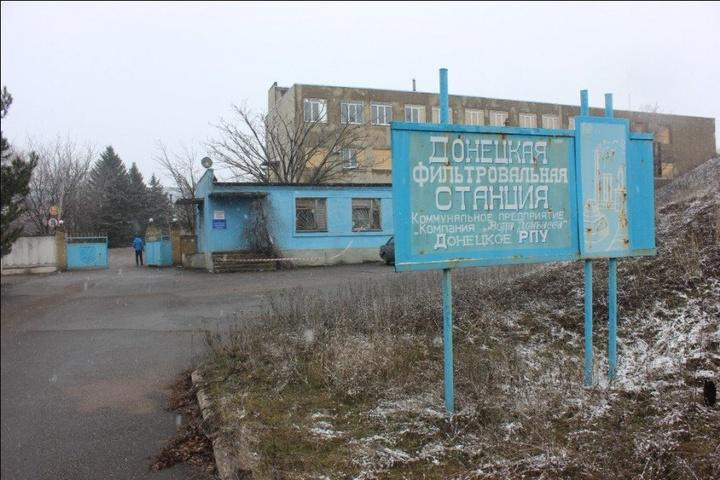 Штаб АТО: Бойовики обстріляли з мінометів Донецьку фільтрувальну станцію