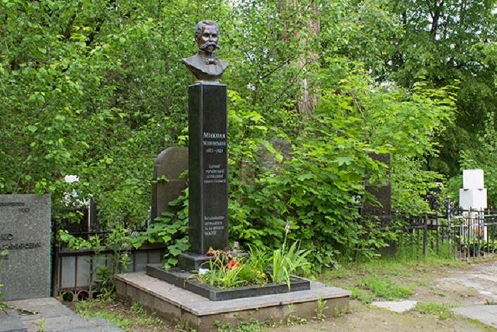 Змогили М. Міхновського уКиєві зникло погруддя