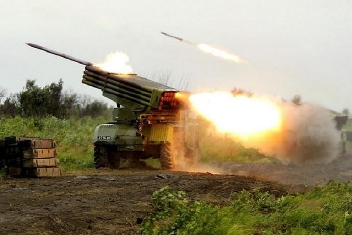 Штаб АТО: Бойовики зГрадів обстріляли позиції українських військових