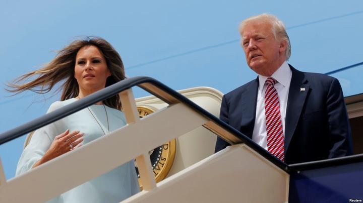Трамп прибув до Італії для зустрічі зПапою Римським
