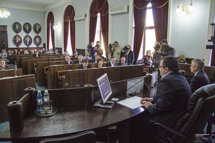Чернівецька міськрада рекомендувала Каспруку непризначати напосади колишніх регіоналів
