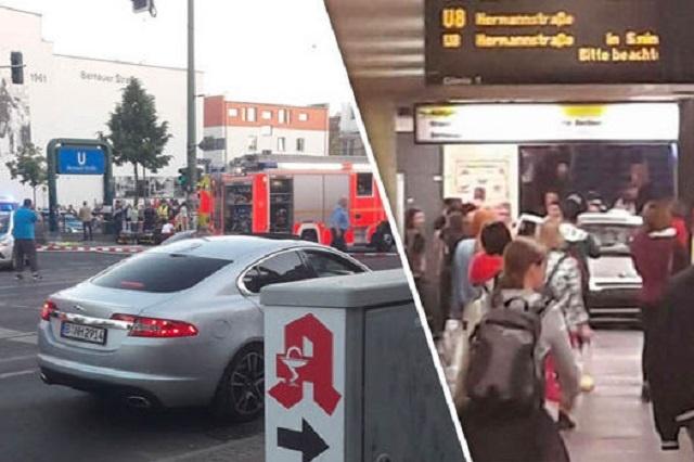 УБерліні авто в'їхало устанцію метро, постраждало шість осіб