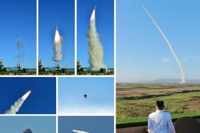 Північна Корея провела випробування нової системи ППО