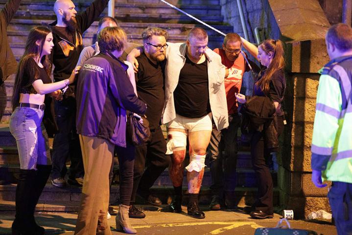 Британська поліція звільнила трьох осіб, раніше підорюваних ускоєнні теракту вМанчестері