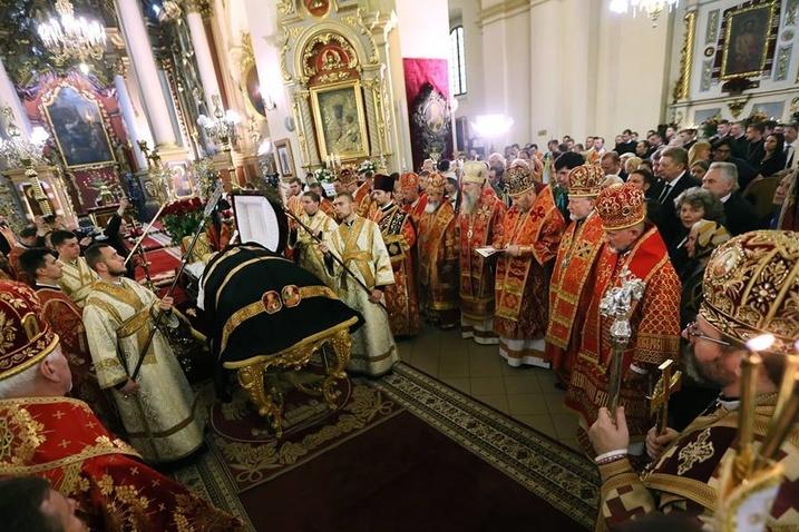 Блаженнішого Любомира поховають уКиєві вкрипті Патріаршого собору Воскресіння