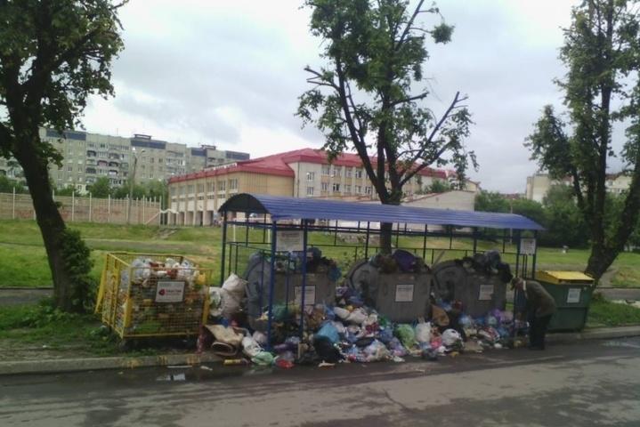 Львівська влада назвала кількість невивезеного сміття у місті