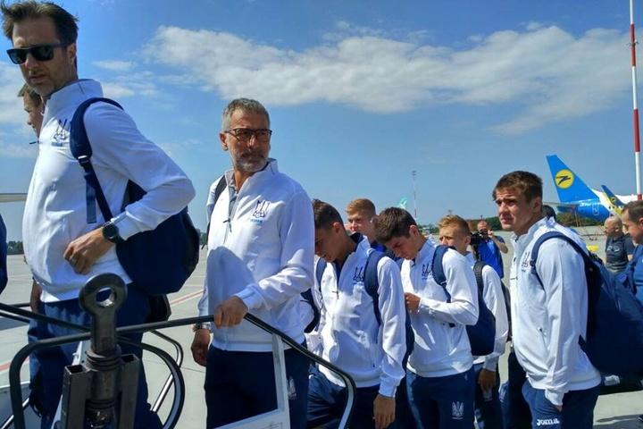 Збірна України полетіла вАвстрію без динамівця Гармаша