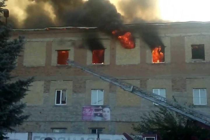 Бойовики накрили вогнем район школи уКрасногорівці
