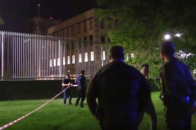 УМВС назвали версію щодо вибуху біля посольства США