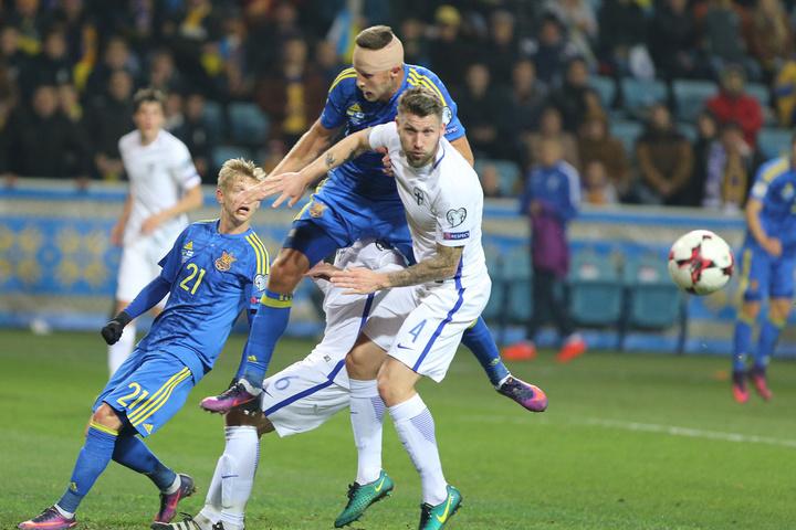 Букмекери: Україна— фаворит уматчі з Фінляндією