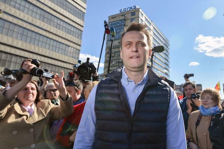 За півгодини доакції: уМоскві затримали Навального