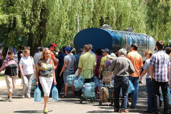 Донеччина опинилася на межі катастрофи через проблеми з водою