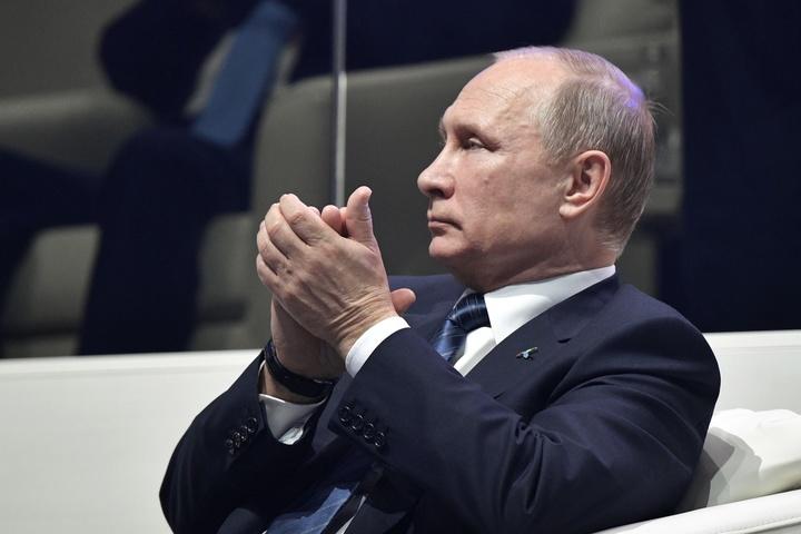 Путін заявив, щоРФ ніколи невтручається всправи інших країн