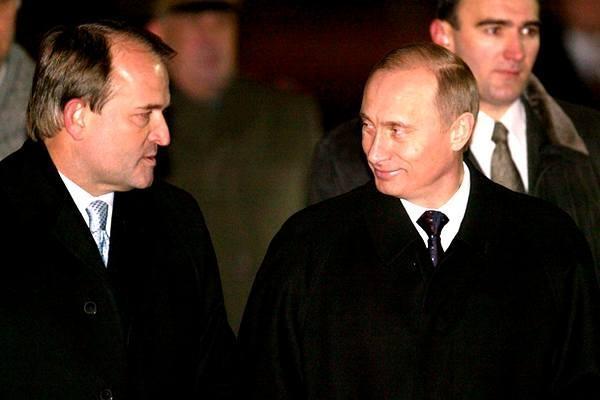 Путін назвав Медведчука «українським націоналістом»