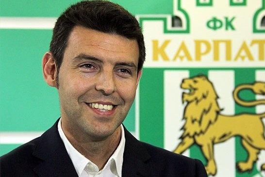 Серхіо Наварро призначений головним тренером «Карпат»