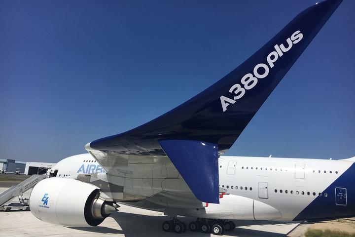 Показали найбільший пасажирський літак усвіті