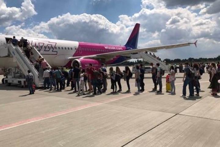 Лоукостер Wizz Air запустив рейс між Львовом та Берліном