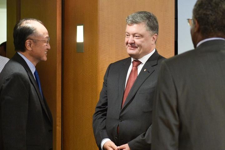 Порошенко і глава Світового банку обговорили українські реформи