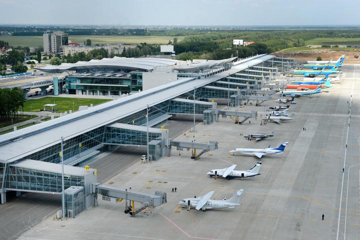 Мінінфраструктури знизило збори ваеропорту «Бориспіль» на23,5%