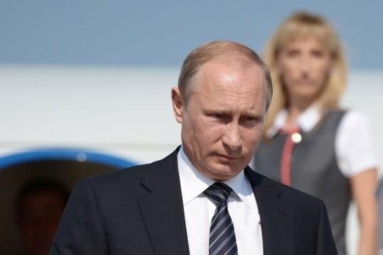 Путін прибув доокупованого Криму і одразу завітав вАртек