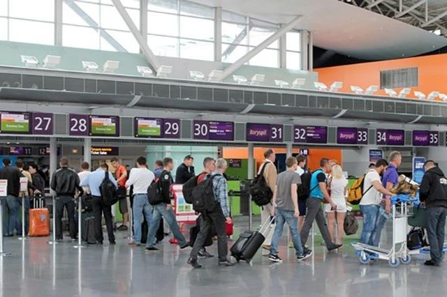 У «Борисполі» зафіксували рекордну кількість пасажирів задень