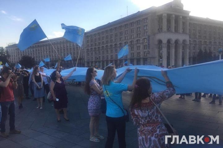 День кримськотатарського прапора: яксвяткуватимуть уКиєві таокупованому Сімферополі