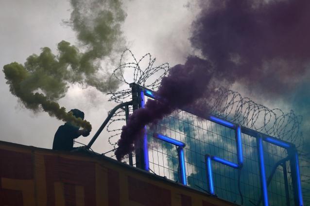 УГамбурзі водометами і перцем розігнали антикапіталістів перед самітом G20