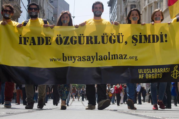 УТуреччині затримали групу правозахисників «Amnesty International»